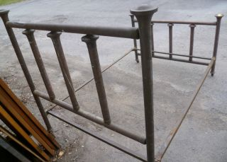 Antique Brass Double Bed photo