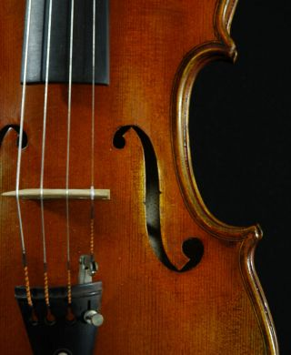 Fascinating Italian Violin By Nicola Ponti C.  1999 4/4 Old Antique.  Violino photo
