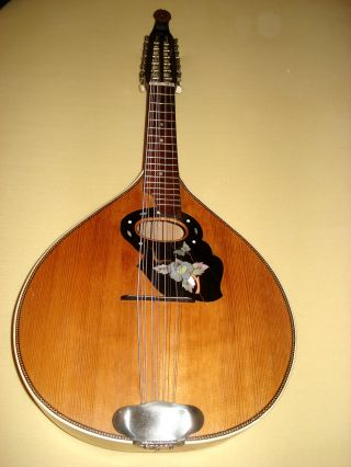 German 12 String Mandriola Ca.  1950 photo