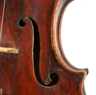 Very Old Antique English Violin,  Betts School C.  1830 photo