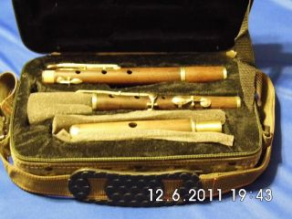 6 - Key Antique Flute - Great Chamber Or Irish Flute photo