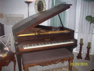 Antique Waltham Baby Grand Piano photo