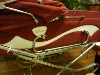 Vintage 1970 ' S Peg Perego Pram Carriage & Stroller Combo Italy Excellent Cond photo