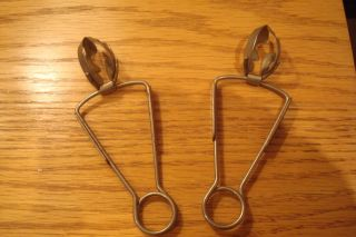 Vintage Escargot /snail Tongs photo