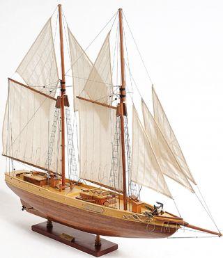 Schooner Bluenose Ii Wooden Ship Model 38