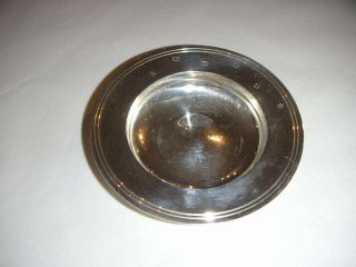 Silver Armada Dish With Millenium Hallmark To Front photo