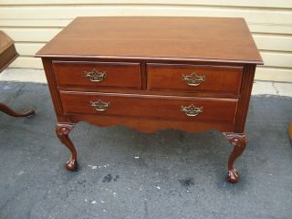 51280 Cresent ?? Furniture Cherry Buffet Server Sideboard photo