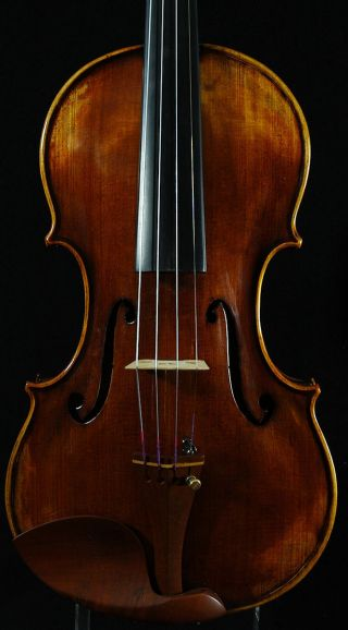 Grandiose German Violin Labeled Markus Ebstein C.  2002 4/4 Old Antique Violino photo