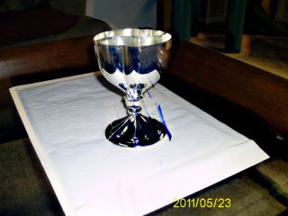 Silver Plated Heart - To - Heart Goblet photo