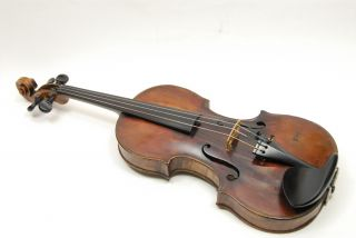 1854 Joseph Neff 4/4 Violin With Bow And Case photo