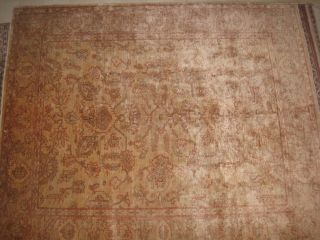 7 - 77 X6,  77 Veg Dyed Peshawar Carpet Antique Design photo