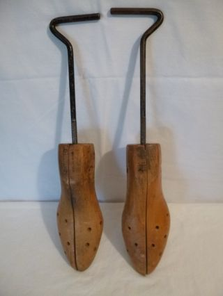 Vintage Hardwood Shoe Last Cobbler Form Stretcher photo