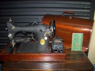 Singer Sewing Machine - Portable -