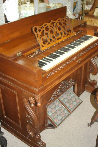 Antique Jewett & Goodman Reed Melodeon/pump Organ - 1860s Fully Restored photo