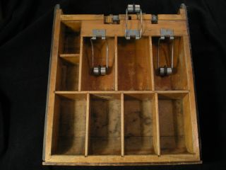 National Cash Register Serial 3159557 Drawer Wood With Metal Attachments photo