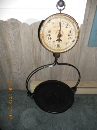 Vintage 20lb Penn Scale Philly Pa photo