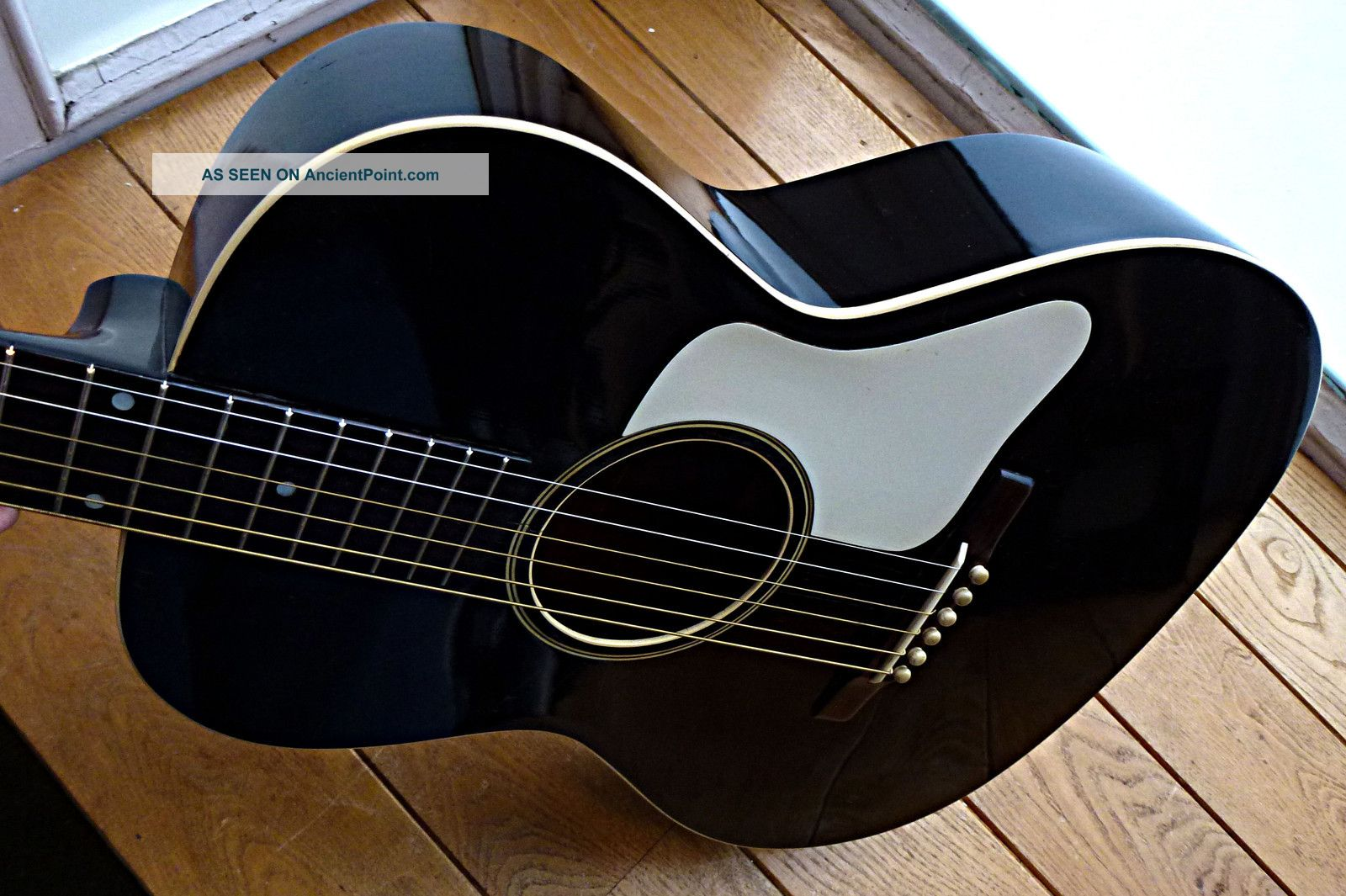 Gibson L - 00 Acoustic Guitar - Vintage 1930 - Black With