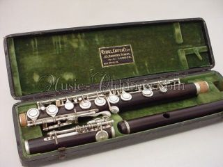 Excellent Rudall Carte Wooden Flute,  Boehm / Radcliff - System Music - Oldtimer photo