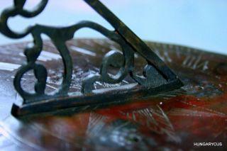 Antique English Bronze Sun Dial C.  19c photo