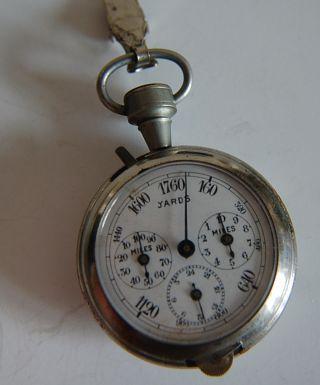 Vintage Drgm Pocket Watch Pedometer / Map Measure / Compass photo