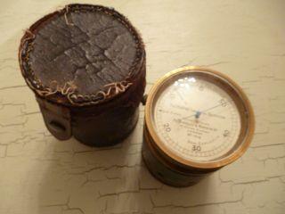 Rare & Interesting Ww1 Gas Leak Detector - Pastorelli & Rapkin Ltd - Orig Case photo