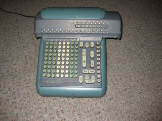Vintage Marchant Figurematic Electric Adding Machine/calculator photo