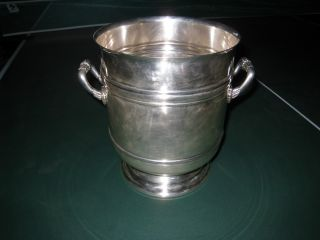 Antique Christofle Wine/champagne Bucket photo