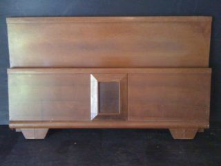 Mid - Century Danish Modern Headboard & Foot Board photo
