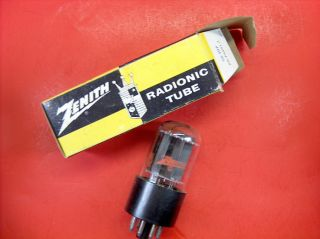 Vtg Zenith Electron Vacuum 6em7 / 6ea7 Ham Radio Cb Amp Phono Tube Usa Made Nos photo