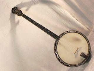 ________1920s Gretsch Tenor Banjo Broadkaster Timecapsule W/ Ohsc 12 Pics photo