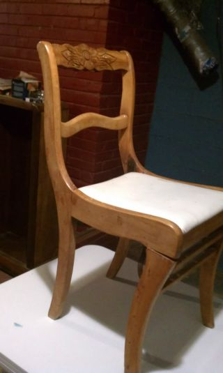 Antique Folding Wood Chair For Restore From Tellcity In.  Chair Maker Since1865 photo