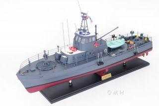 Uscg Point Class Cutter Patrol Boat Wood Ship Model 31