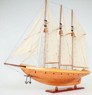 Atlantic Yacht Wooden Topsail Schooner 38
