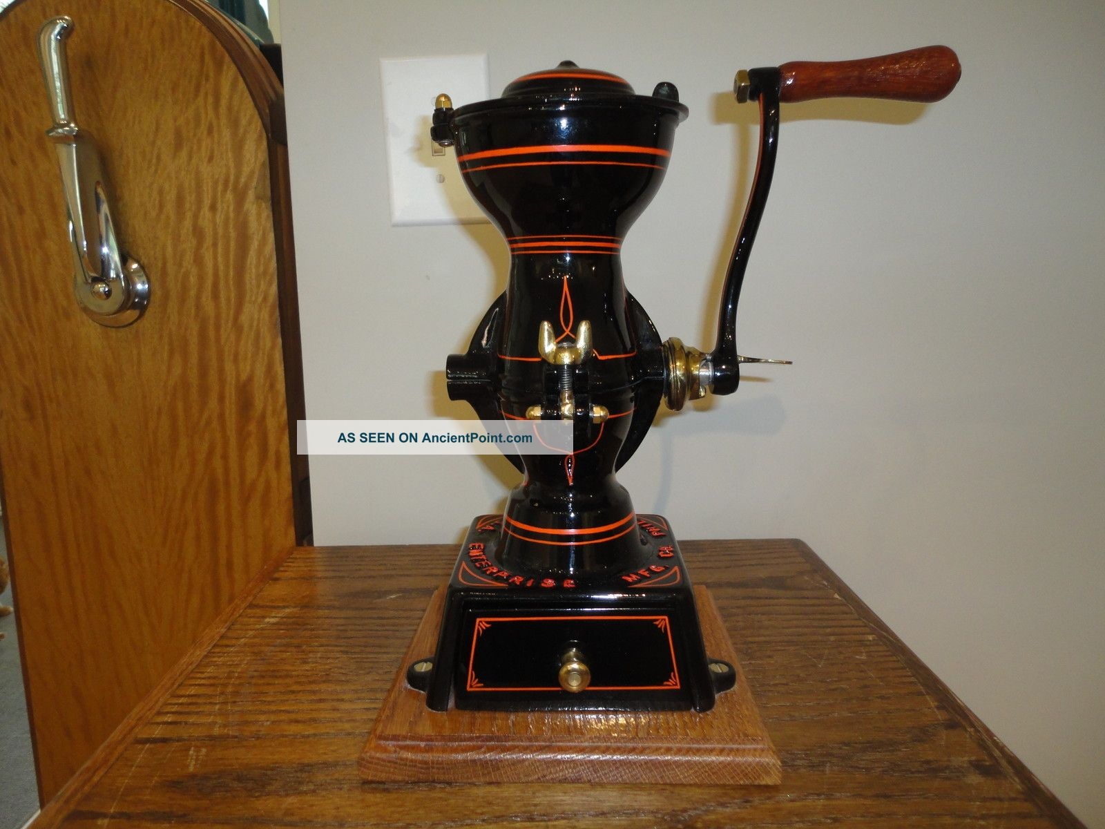 Antique Coffee Grinder Mills Entrprise Other photo