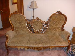 Antique Rococo Sofa photo