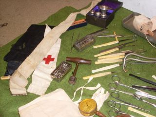 Vintage/antique Surgeons Medical Set (poss.  Military) photo