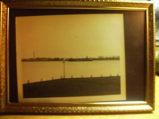 4x5 Real Photo Great Lakes Ship Arcadia. . .  Imperial Oil photo