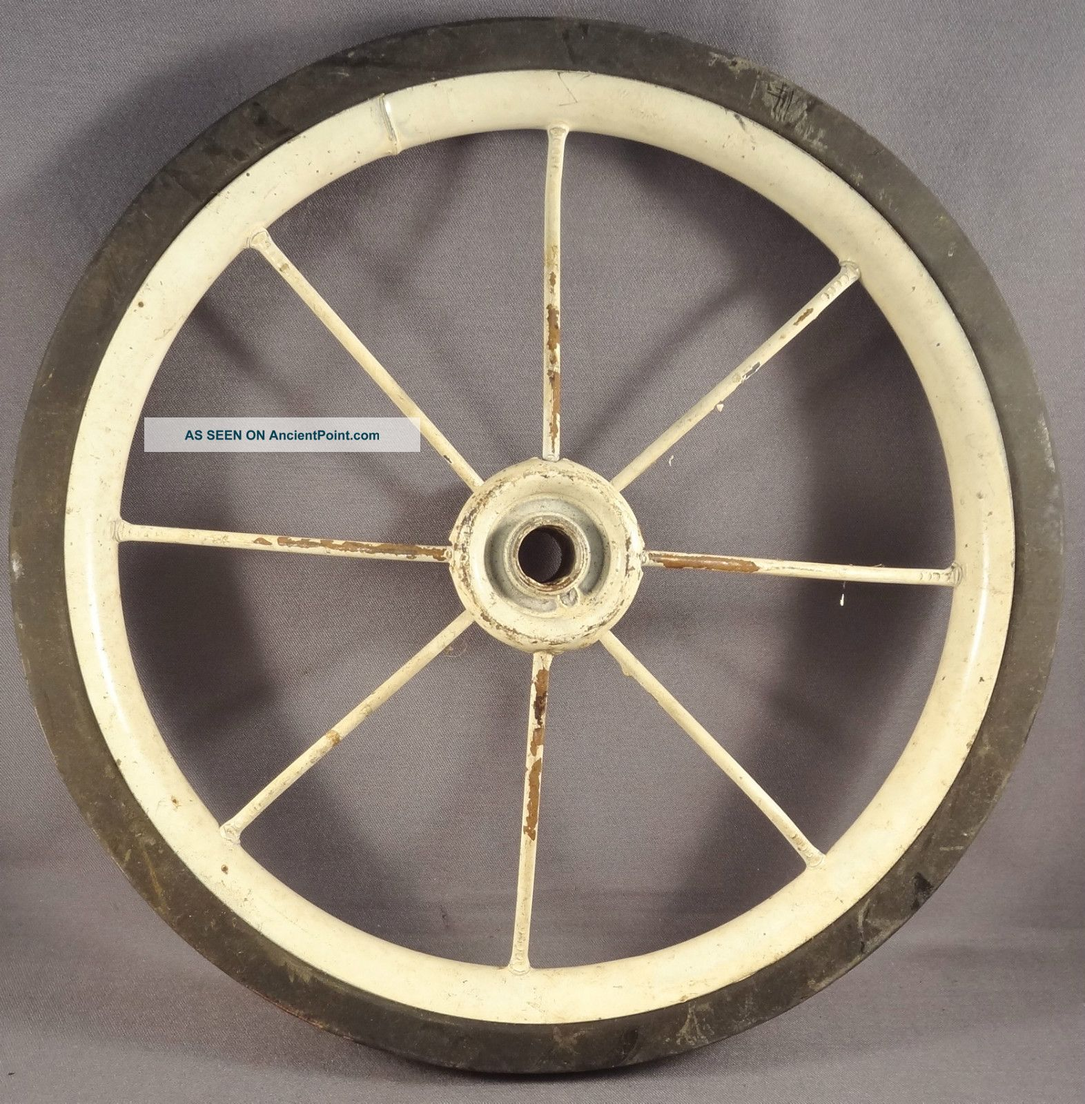 7.  25 Inch Wheel Semi Pheumatic Tire For Vintage Trike Tricycle Baby Carriage Nos Baby Carriages & Buggies photo