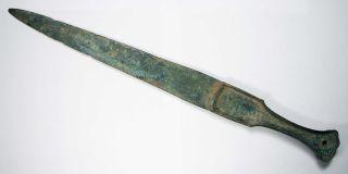 Matncat84 Luristan Bronze Small Sword G138 photo