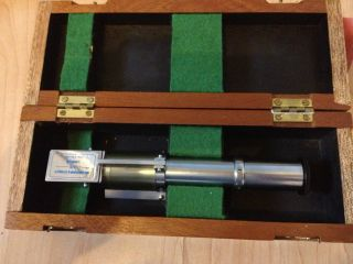 Her Majesty ' S Customs & Excise Refractometer Cased Ex Museum Piece In Wooden Box photo