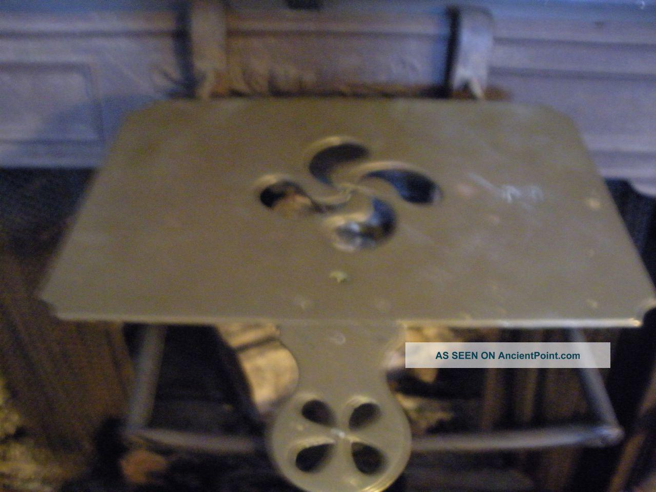 Antique Iron Brass Kettle Fireplace Trivet Fireside Bracket Stand Hearth Fender Trivets photo