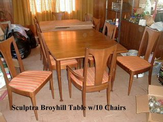 Broyhill Brasilia - Sculptra - Emphasis - Side And Arm Available - See Below photo