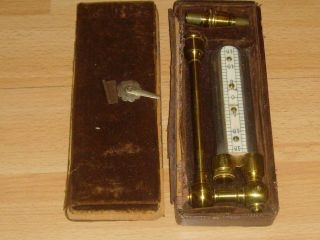 A Victorian Brass & Glass Chemistry/scientific Instrument C1880 photo