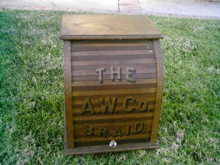 Awesome & 1900 ' S Rolltop A.  W.  Braid Cabinet. . . . photo