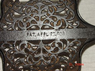 Rare Antique Cast Iron Ideal Chainstitch Treadle Sewing Machine photo