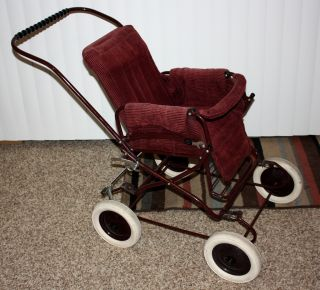 Vintage Top Of The Line Gesslein Pram Stroller Buggy photo