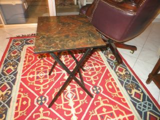 Vintage Artex Folding Table photo