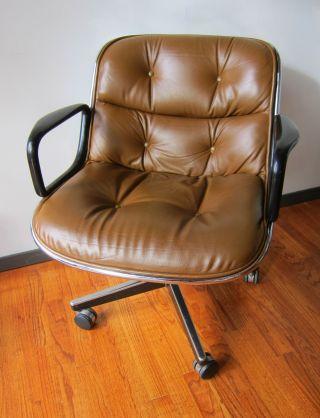 Knoll Pollock Leather Executive Task Chair photo