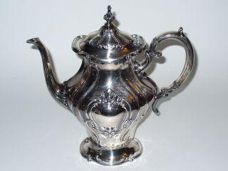 Gorham Silverplate Chantilly Yc1301 3 Pint Coffee Pot photo