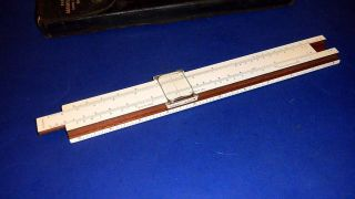 Vintage K&e Mannheim Slide Rule N4041 - Keuffel & Esser Co.  N.  Y.  - W/hard Case photo